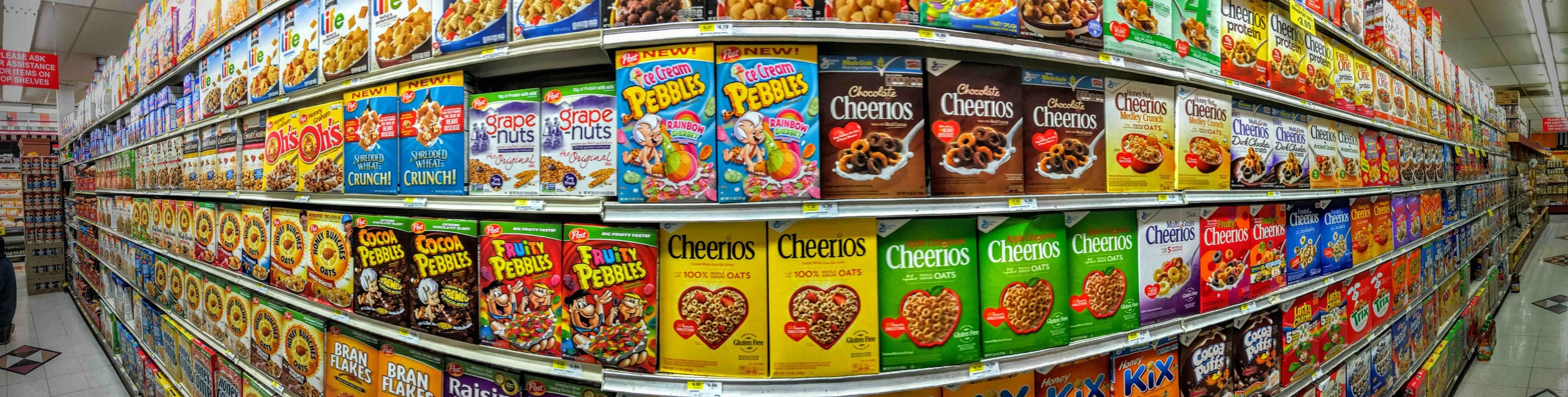 There are  387  different types of breakfast cereal in the U.S. alone. Do we really need that?