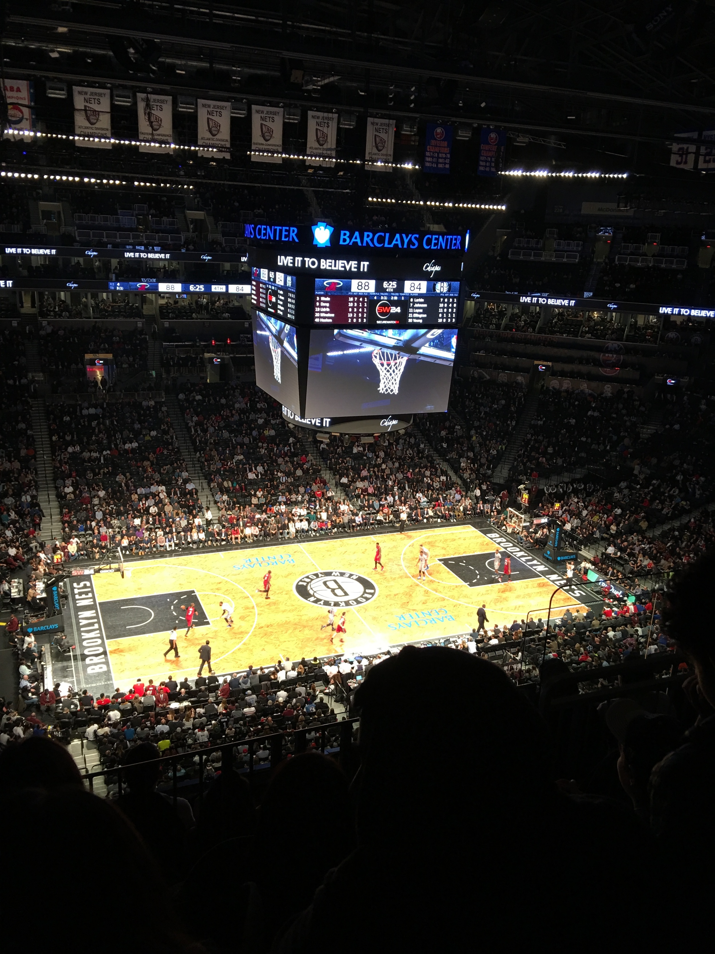 Brooklyn Nets x Miami Heat, at the Barclays Center, Brooklyn, New York – on January 26, 2016. You might want to experience the game in person on your next trip to the United States. Follow The Welcome Hub, a travel experience agency, on Facebook and  Twitter for helpful tips on tours and games. They create customized thematic experiences.