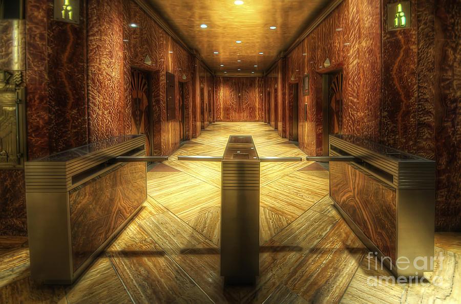 The Building Entrance lobby