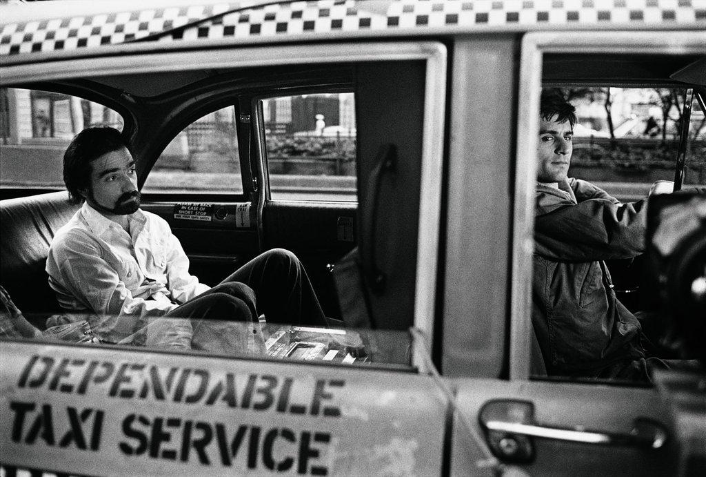 Robert DeNiro and Martin Scorsese (1976)
