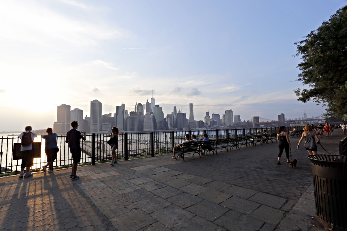 Brooklyn Heights Promenade - Awesome views from a quiet and relaxing spot