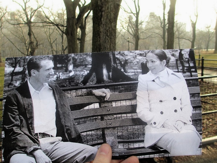 """Maid in Manhattan"" (2002) in  Central Park  location – Image: Christopher Moloney and his series  FILMography"