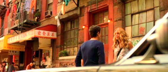 """Coyote Ugly"" location – Violet Stanford's apartment at  165 Mott Street and Broome Street"