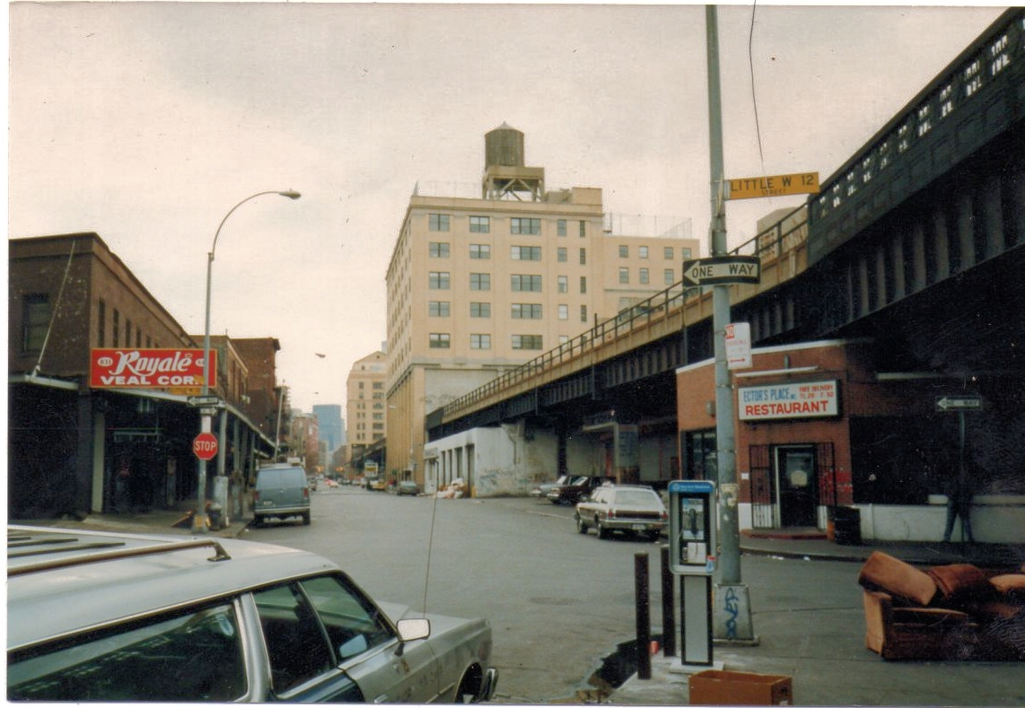 "The    Meatpacking Distric   t was a dangerous area back in the 1980s. Hector's Cafe/Restaurant was there at that time, actually for 45 years.  Dionisios Manesis, the owner, tells that the rents in the area just keep getting higher.  ""Maybe 10, 15 years ago, the landlords were giving it away, rent was almost free. $300 or $400 a month. Now there's nothing less than $25,000 a month. There's a store across the street paying $105,000 a month"""