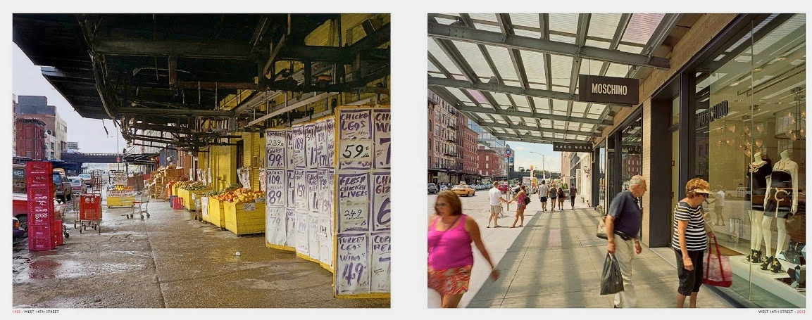 The Meatpacking District back in the 1980s, and in 2016