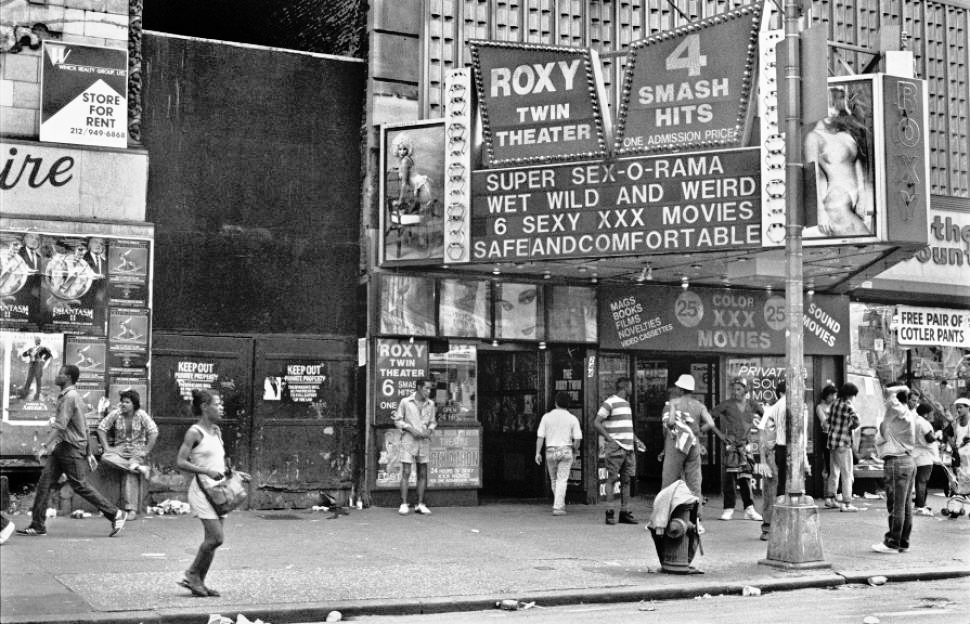 Times Square back in the 1980s