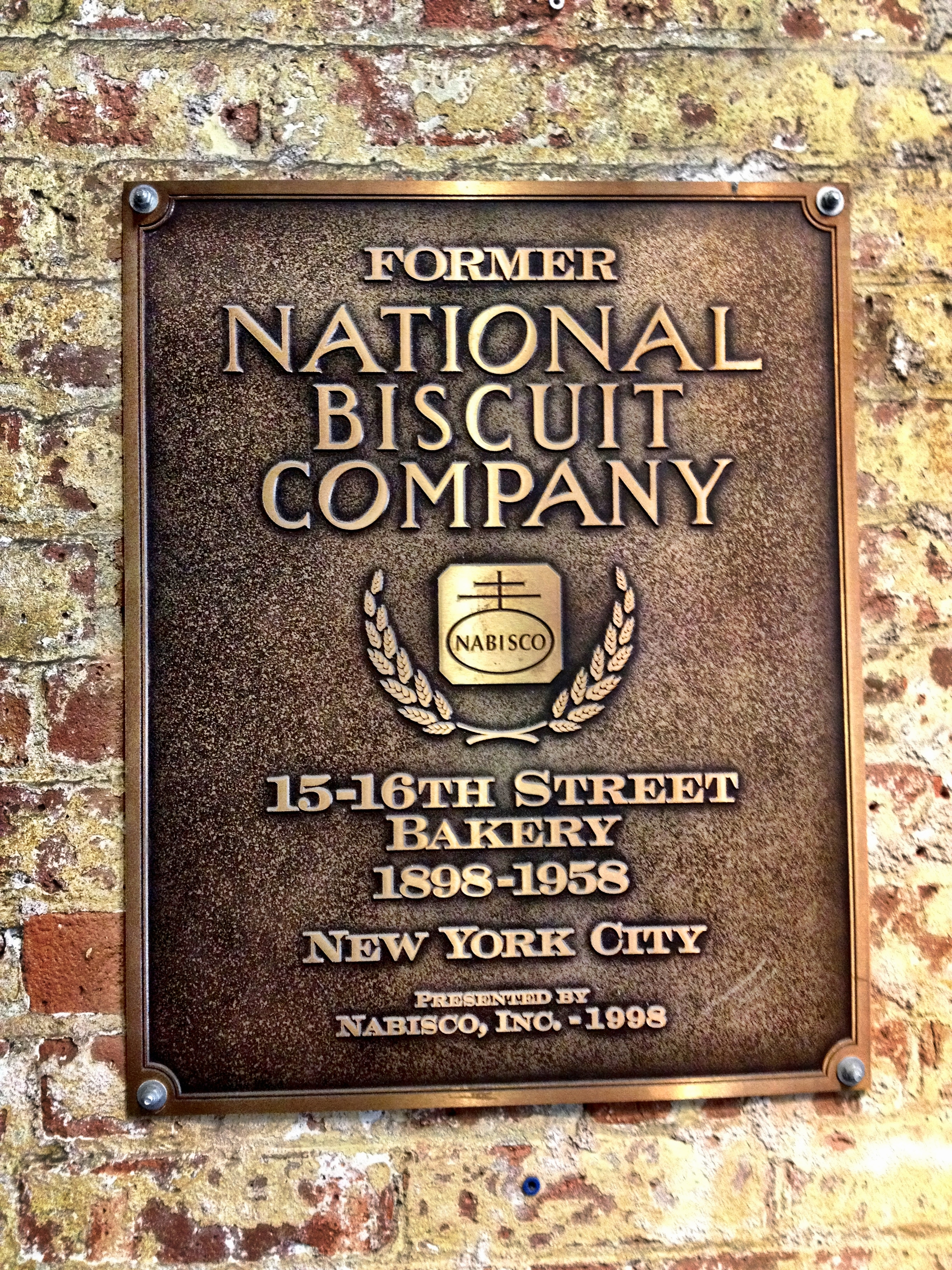 Chelsea Market builing: former Nabisco factory