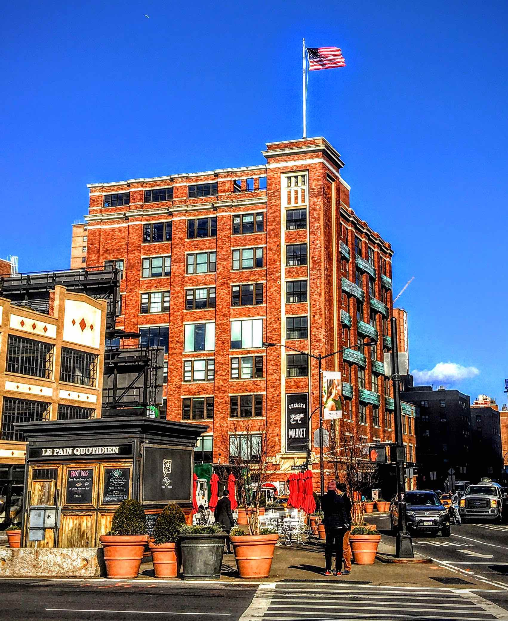 Chelsea Market –Ninth and Tenth Avenues, and 15th and 16th Streets, in the Meatpacking District