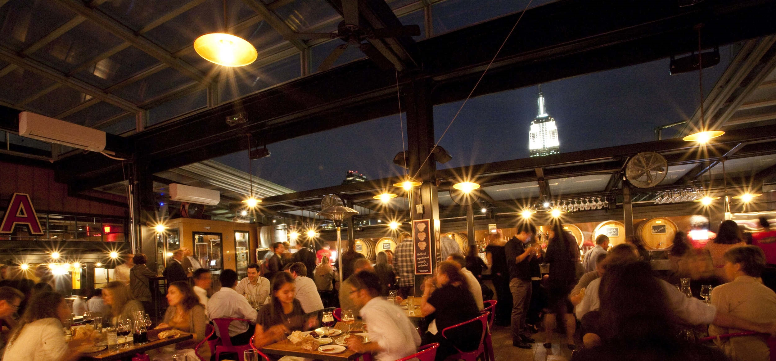 Birreria , rooftop restaurant and brewery with knockout skyline views
