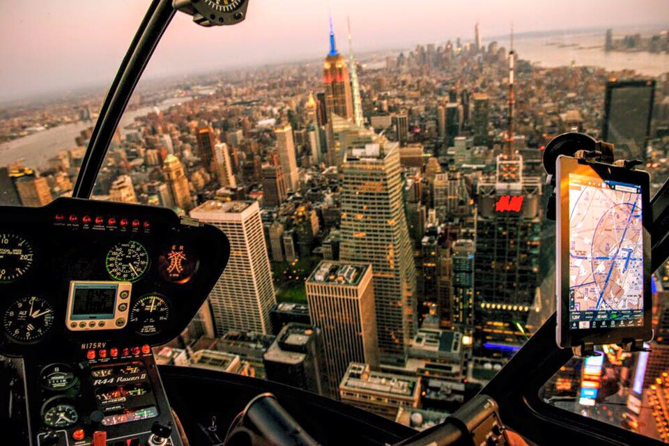 Click here to experience a helicopter ride over Mahnattan