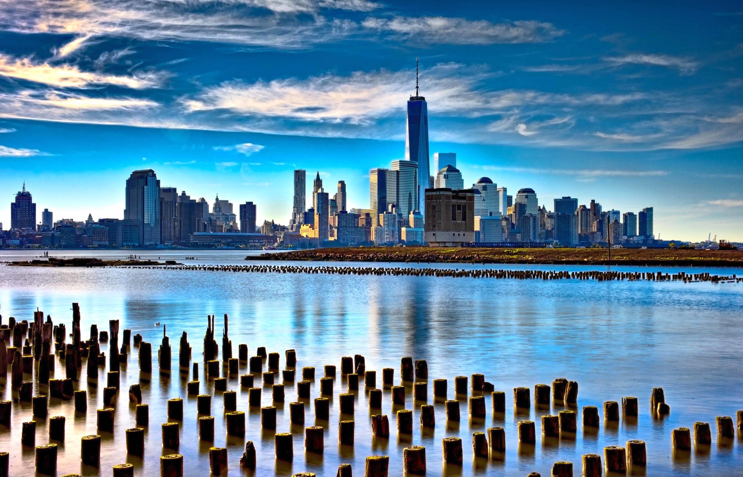 Downtown Manhattan from Hoboken
