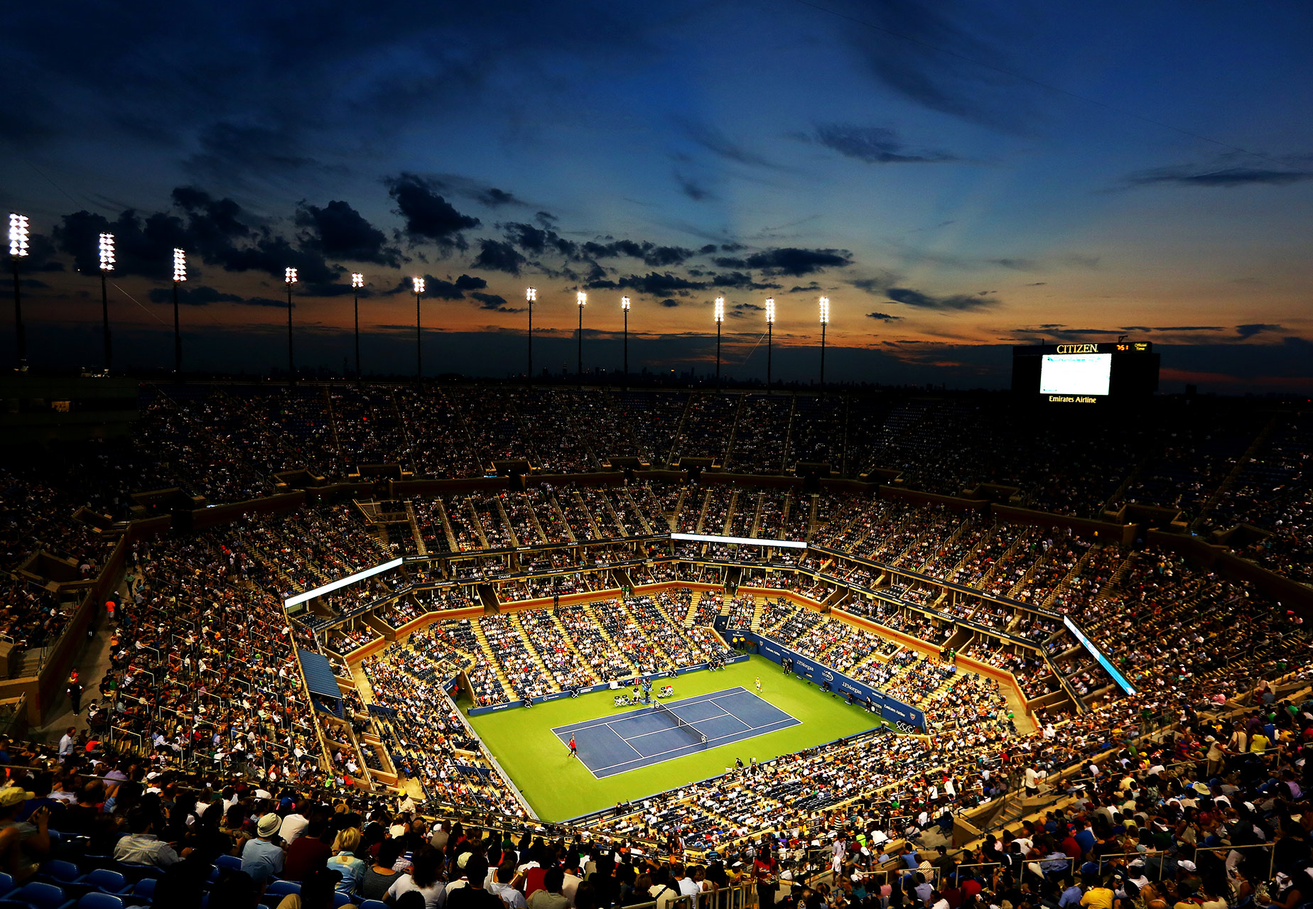 The United States Open Tennis Championships is a hardcourt tennis tournament which is the modern version of one of the oldest tennis championships in the world, the U.S. National Championship, for which men's singles was first contested in 1881.