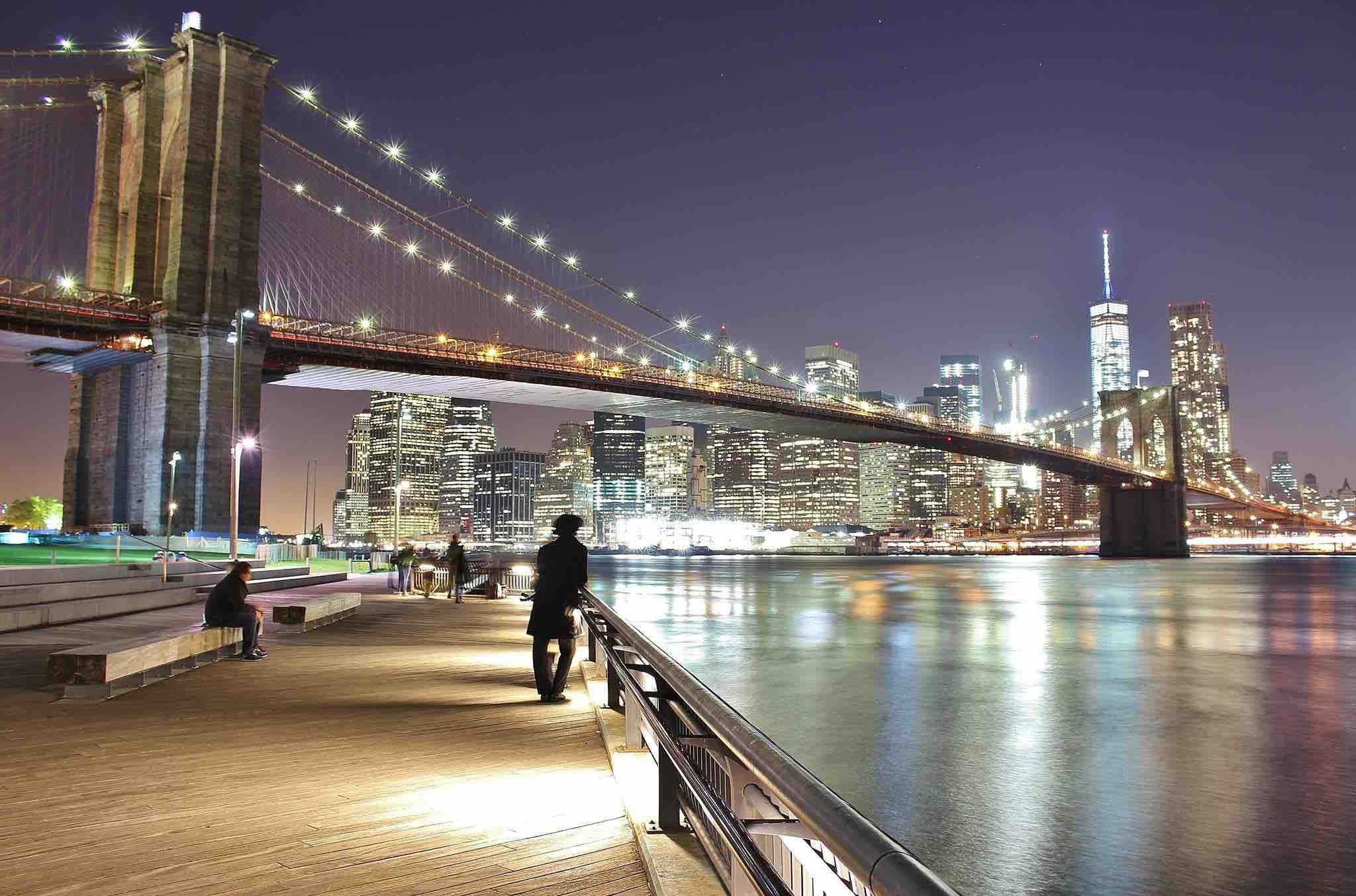 Brooklyn Bridge  and Manhattan skyline (Photo:  Dani Blue )
