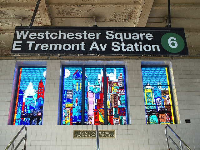 the-welcome-blog-new-york-subway-art-Romero-Bearden-City-of-Light