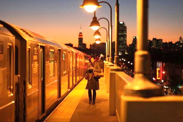 The 1990s and its improvements on    New York's subway system.