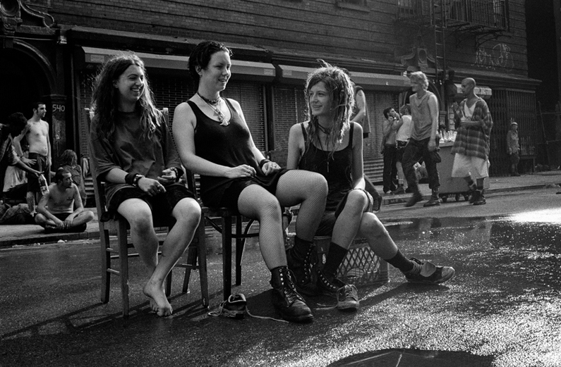 Ash Thayer moved to Manhattan to become a photographer. Her community became her subject.