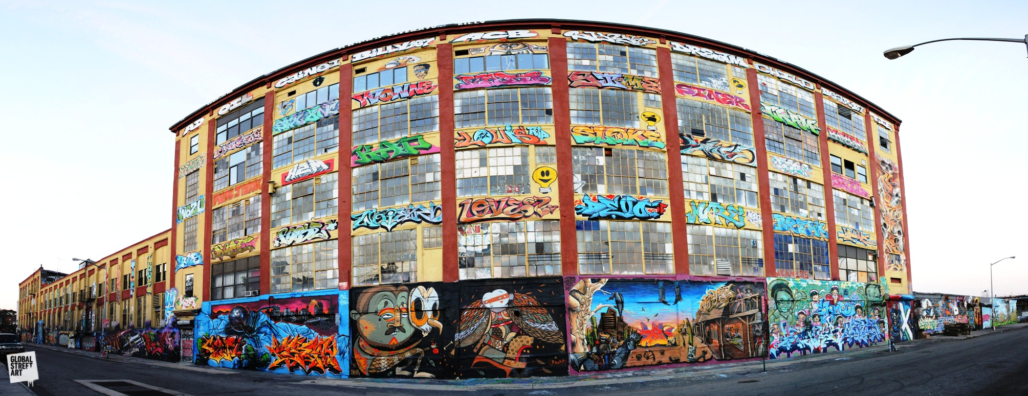 As of August 2014, 5 Pointz was in the process of being torn down and by November 2014 the building had been fully demolished, to be replaced by a condominium complex.