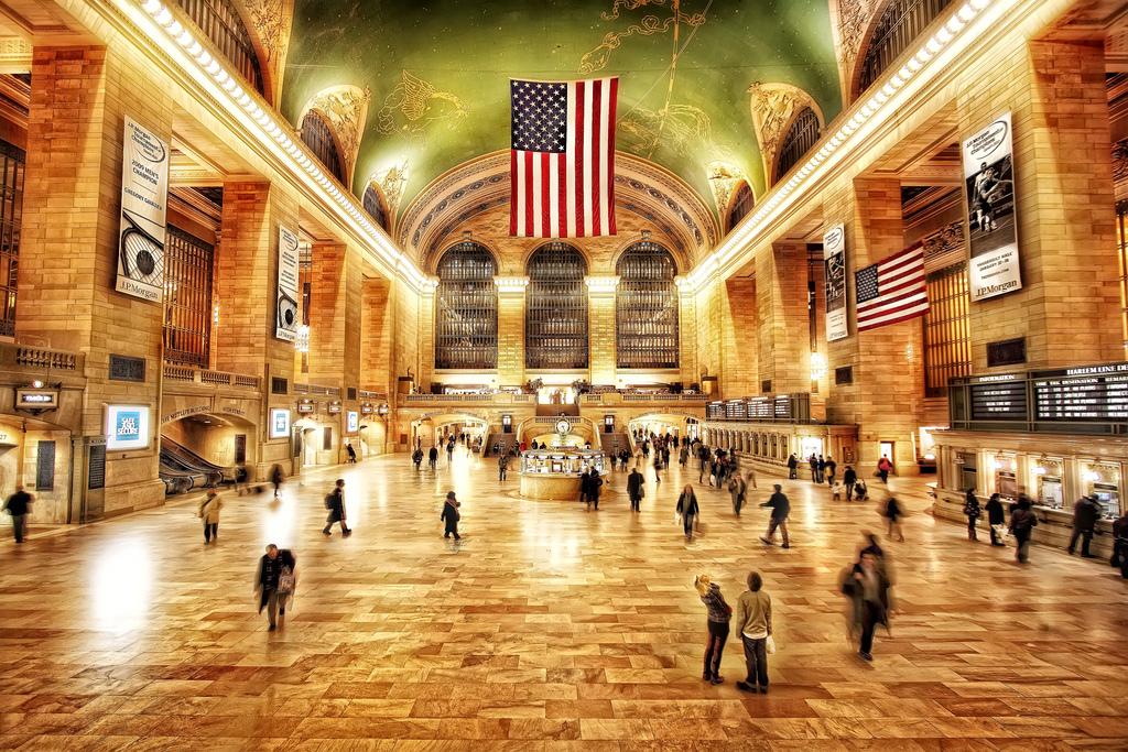 Main concourse in Grand Central Terminal