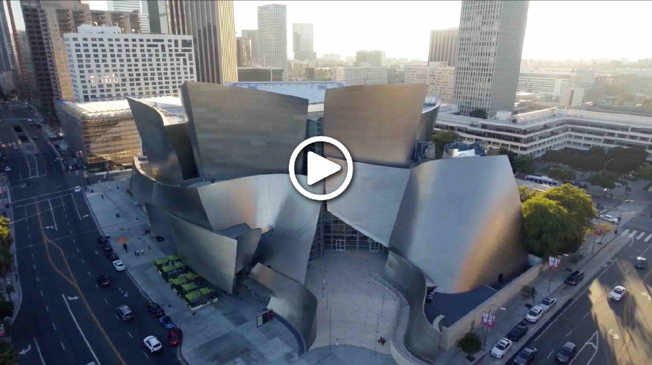 Watch an awesome aerial video on Los Angeles