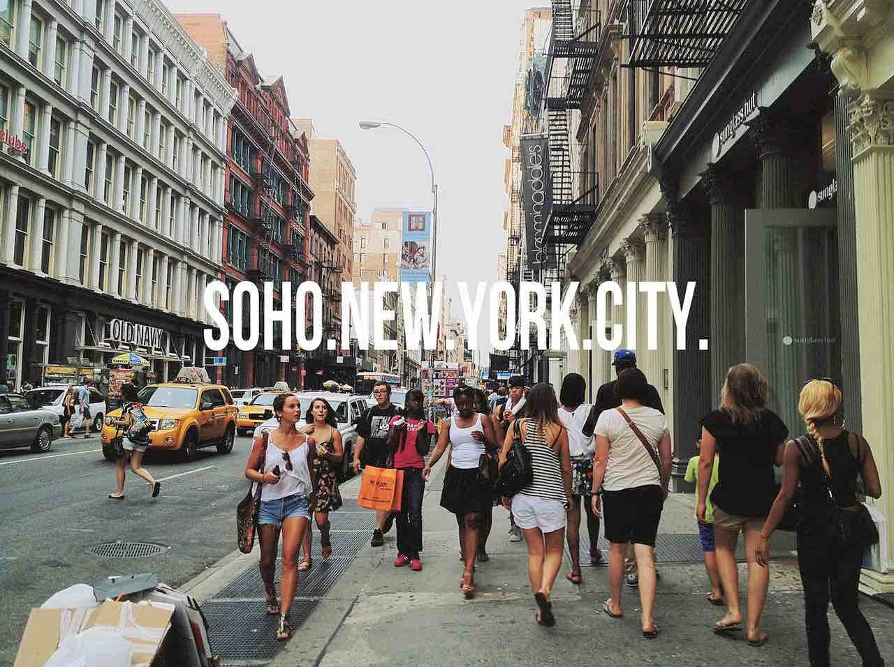 Do you know what does SoHo stand for?    Click to figure that out – and much much more.