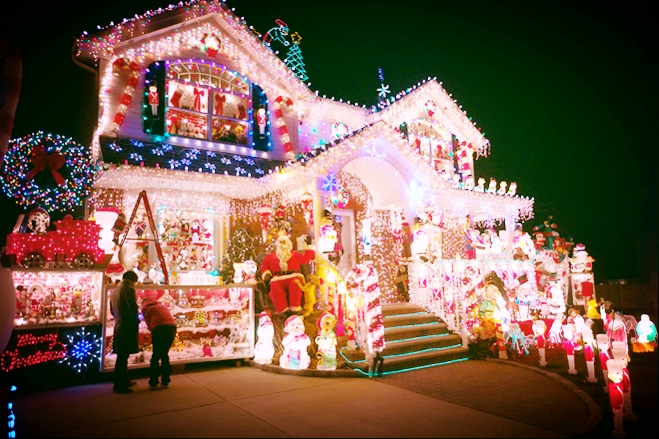 A home in Bayside, Queens on 169th street. CREDIT: Ken Maldonado for The Wall Street Journal December 11th, 2010