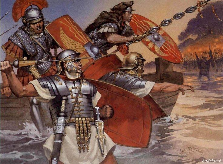 The Roman Empire in 43 A.D.