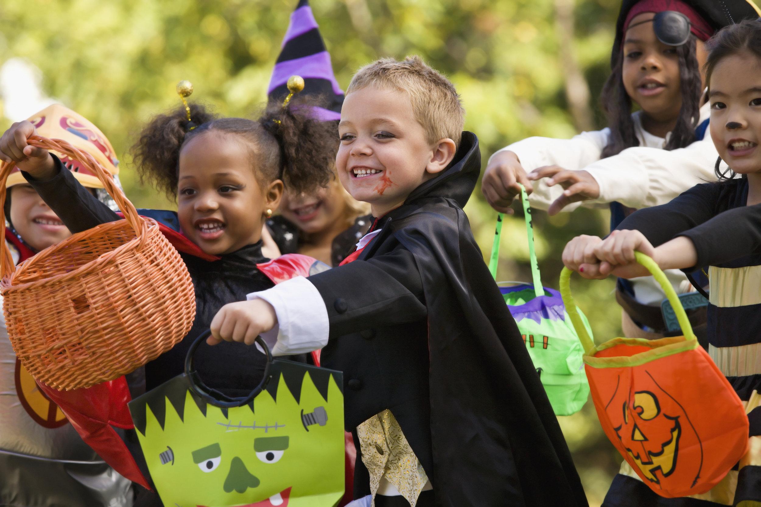 Halloween Trick-or-Treat in Astoria-Ditmars, Queens, New York
