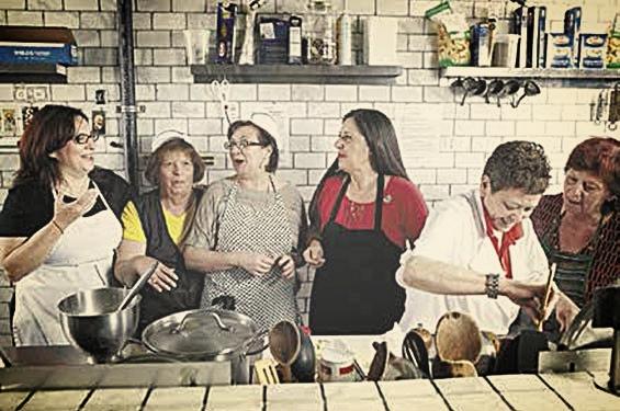 Nonnas in the kitchen