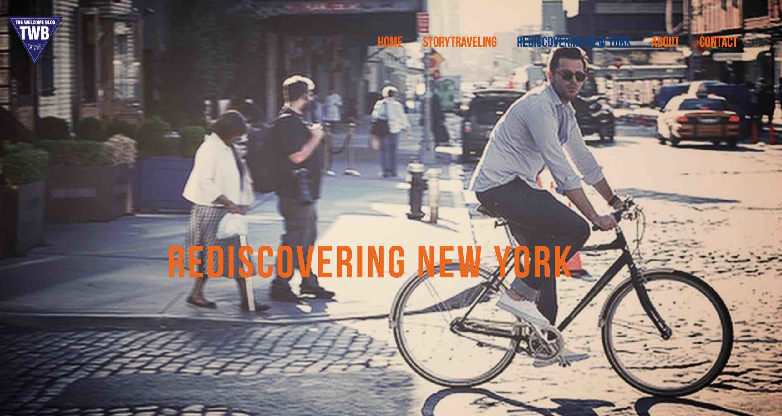 New section on The Welcome Blog:   Rediscovering New York