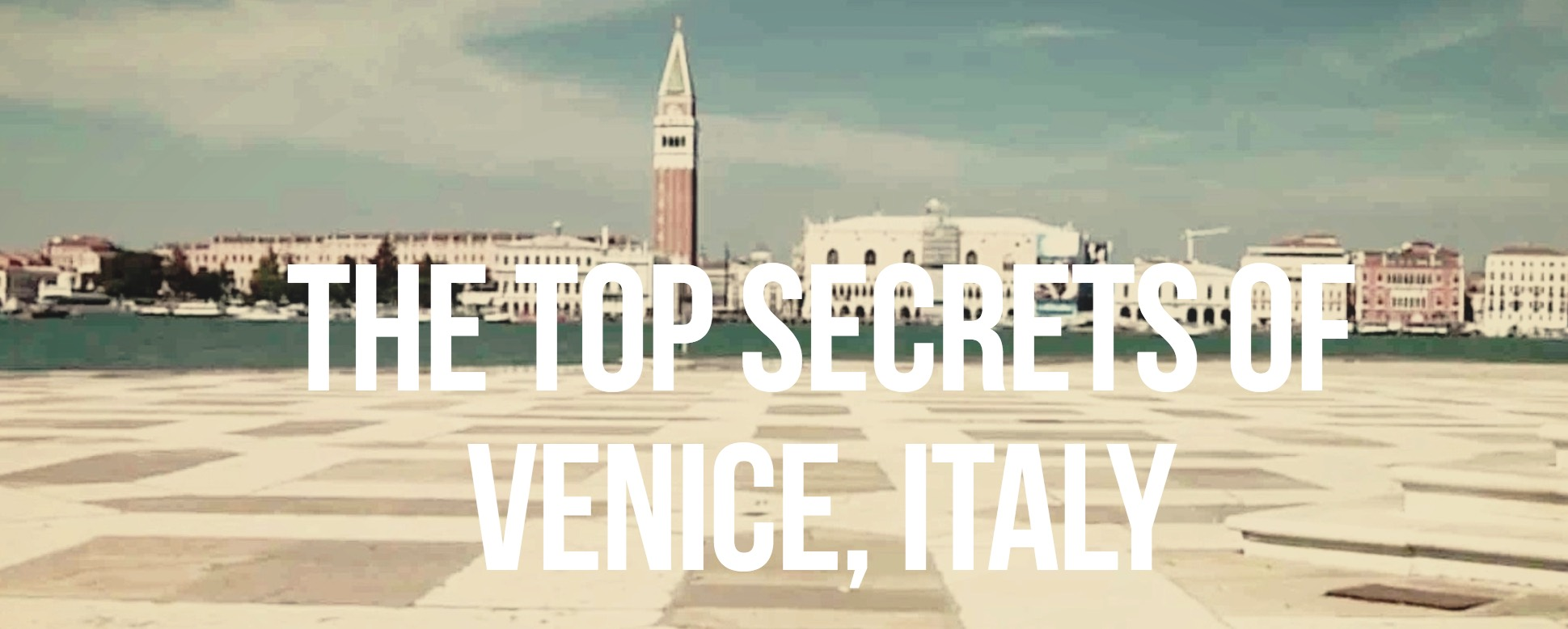 How does Venice work?    Click to watch a fantastic short film unveiling all secrets of this beautiful city
