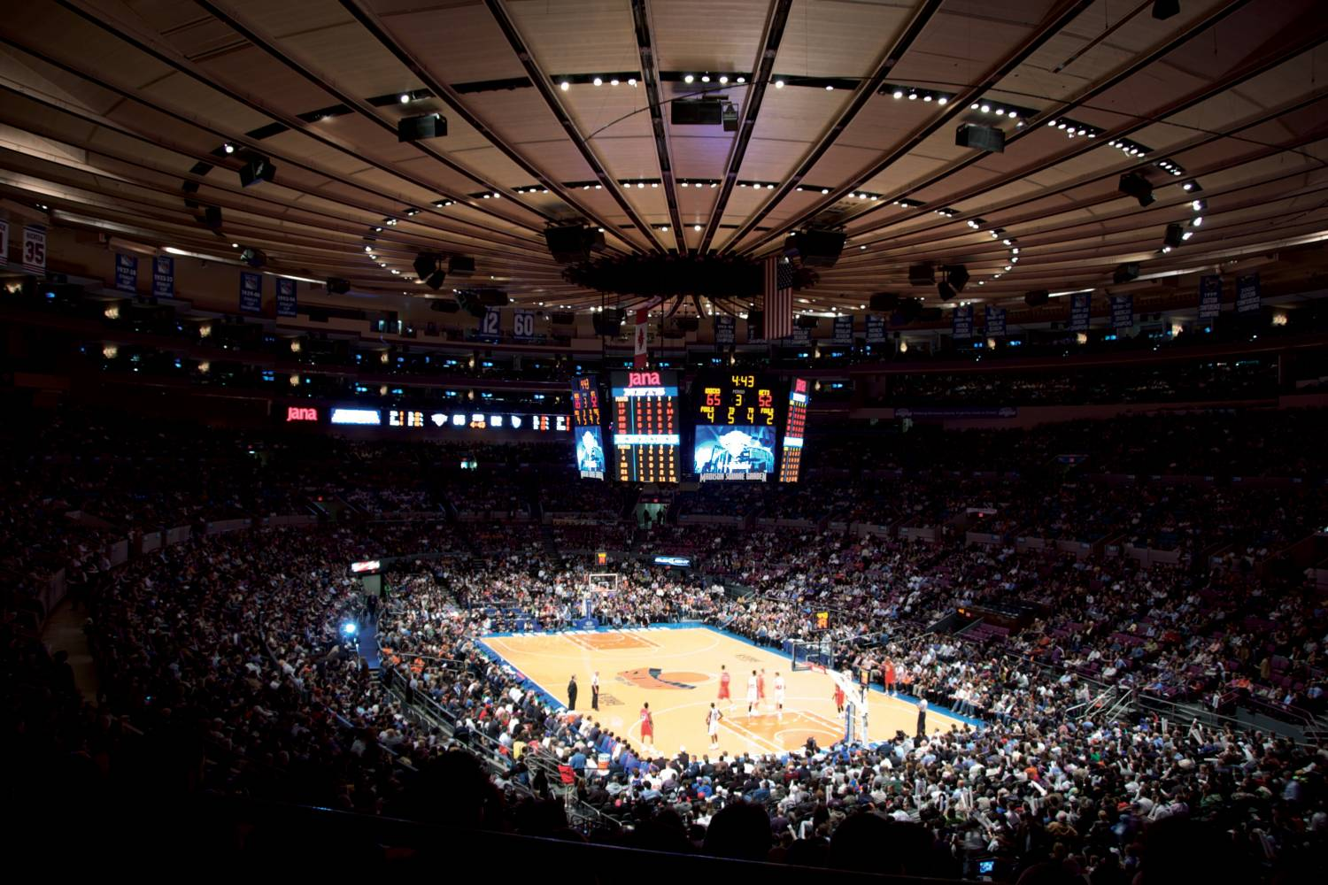"""In July 2013, lMadison Square Garden, home to the Knicks, the Rangers, the Ice Capades, the circus and the """"Fight of the Century"""" between Muhammad Ali and Joe Frazier in 1971, received an eviction notice of sorts on Wednesday. The New York City Council notified the arena that it has 10 years to vacate its 45-year-old premises and find a new home, the Garden's fifth since it opened in 1879. By a vote of 47 to 1, the Council voted to extend the Garden's special operating permit for merely a decade — not in perpetuity, as the owners of the Garden had requested, or 15 years, as the Bloomberg administration had intended. (   Source: The New York Times   )"""