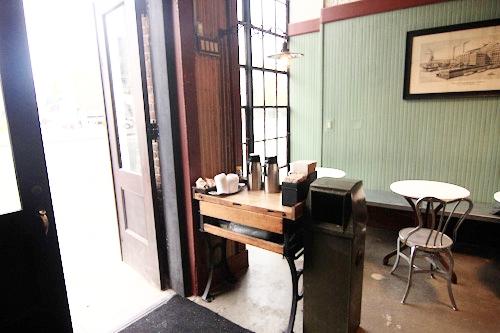 Coffee shop on Bowery Street, Lower East Side