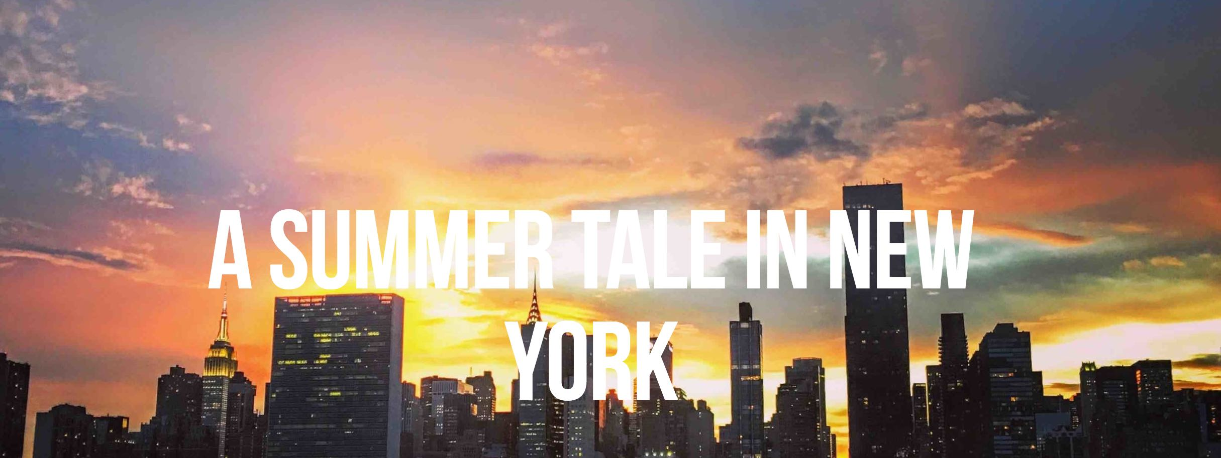 Click here to explore Coney Island, Long Island City waterfront, Brooklyn Bridge Park in an adorable summer tale.