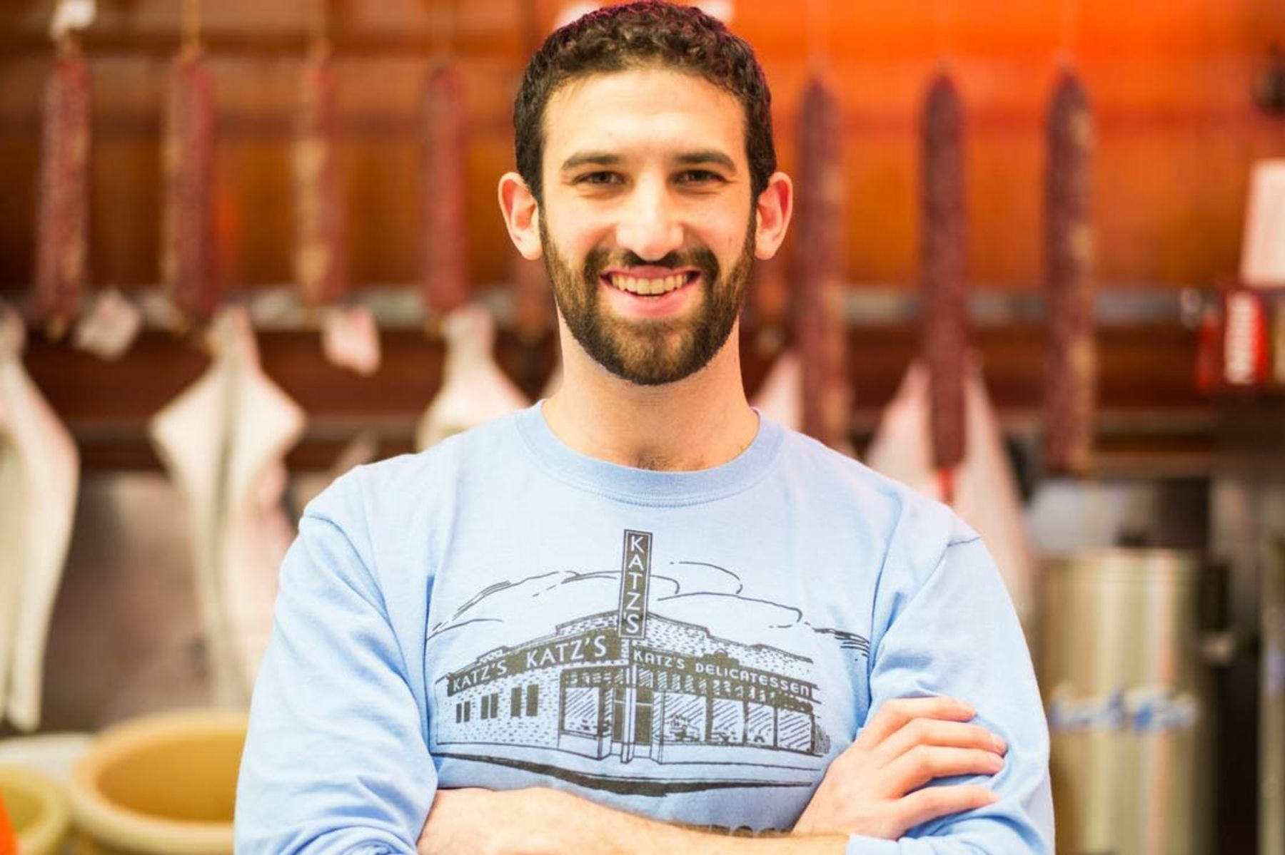 Jake Dell, owner, Katz's Delicatessen. Image: Katz's Deli