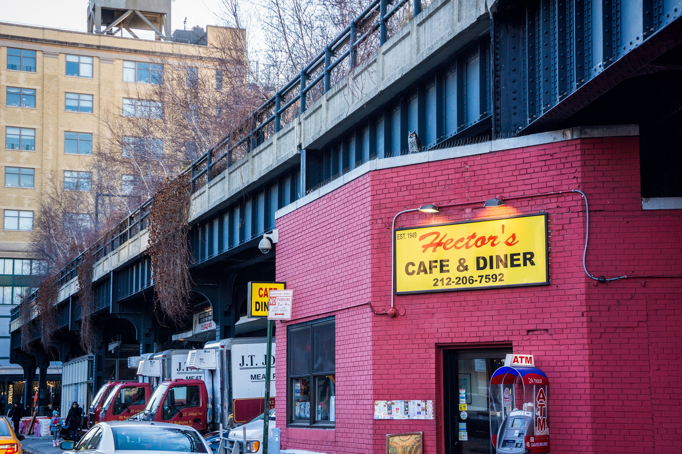 The current owner Danny Manesis has had it for more than 25 years. It's a classic at right under The High Line at 44 Little W 12th St, New York, NY 10014 | Open 24 hours | Phone (212) 206-7592