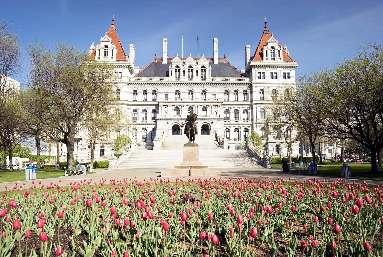 New York Capitol Building, in Albany