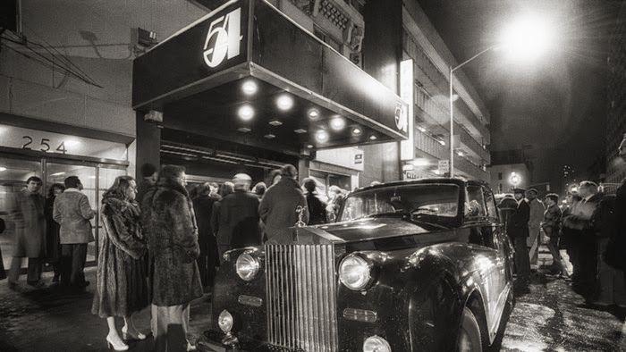 The legendary Studio 54 at 254 54th Street, midtown Manhattan, New York City