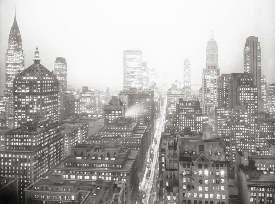 Midtown Manhattan (1932) | Image:New York City, Department of Records