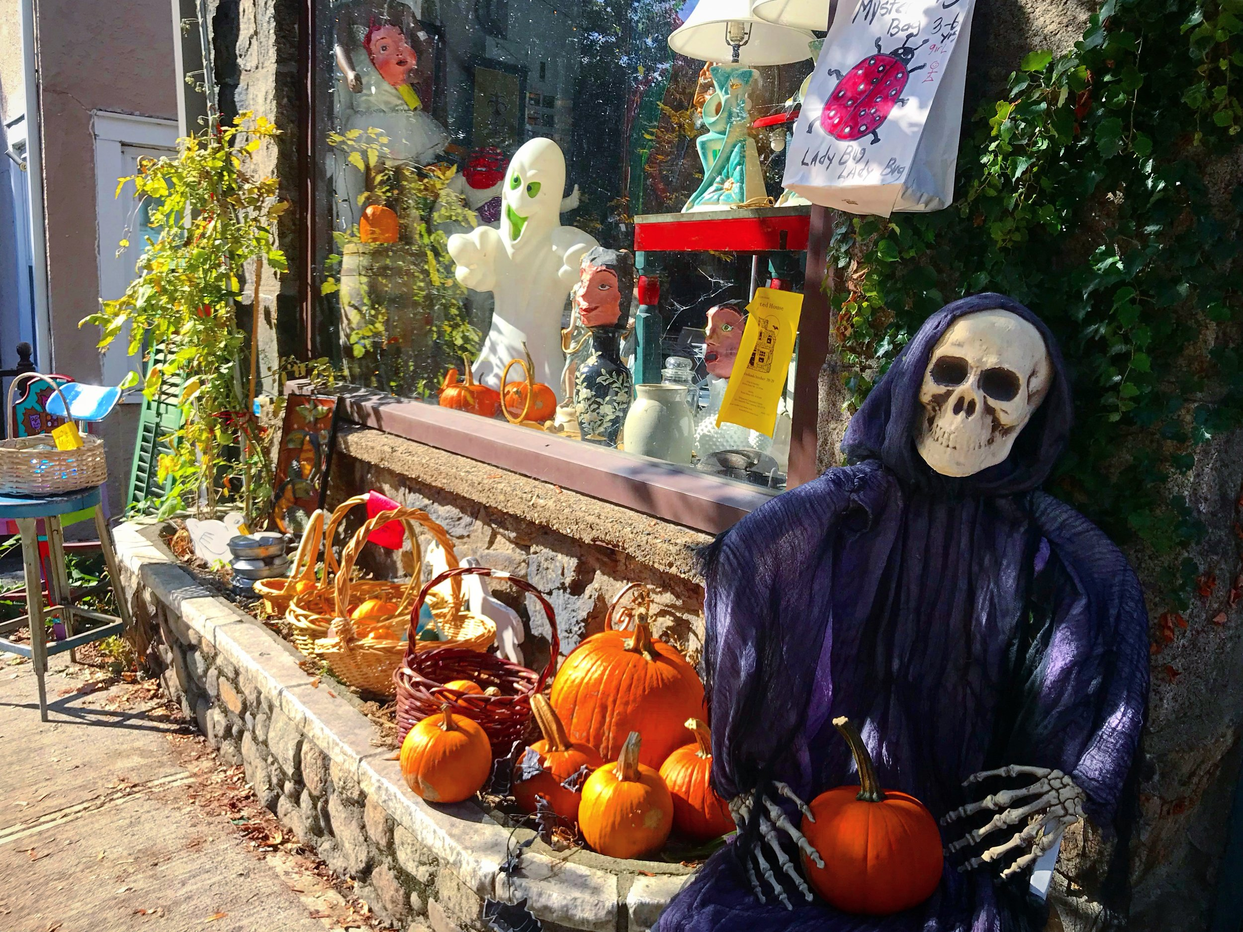 Halloween Decorations in Cold Springs, NY