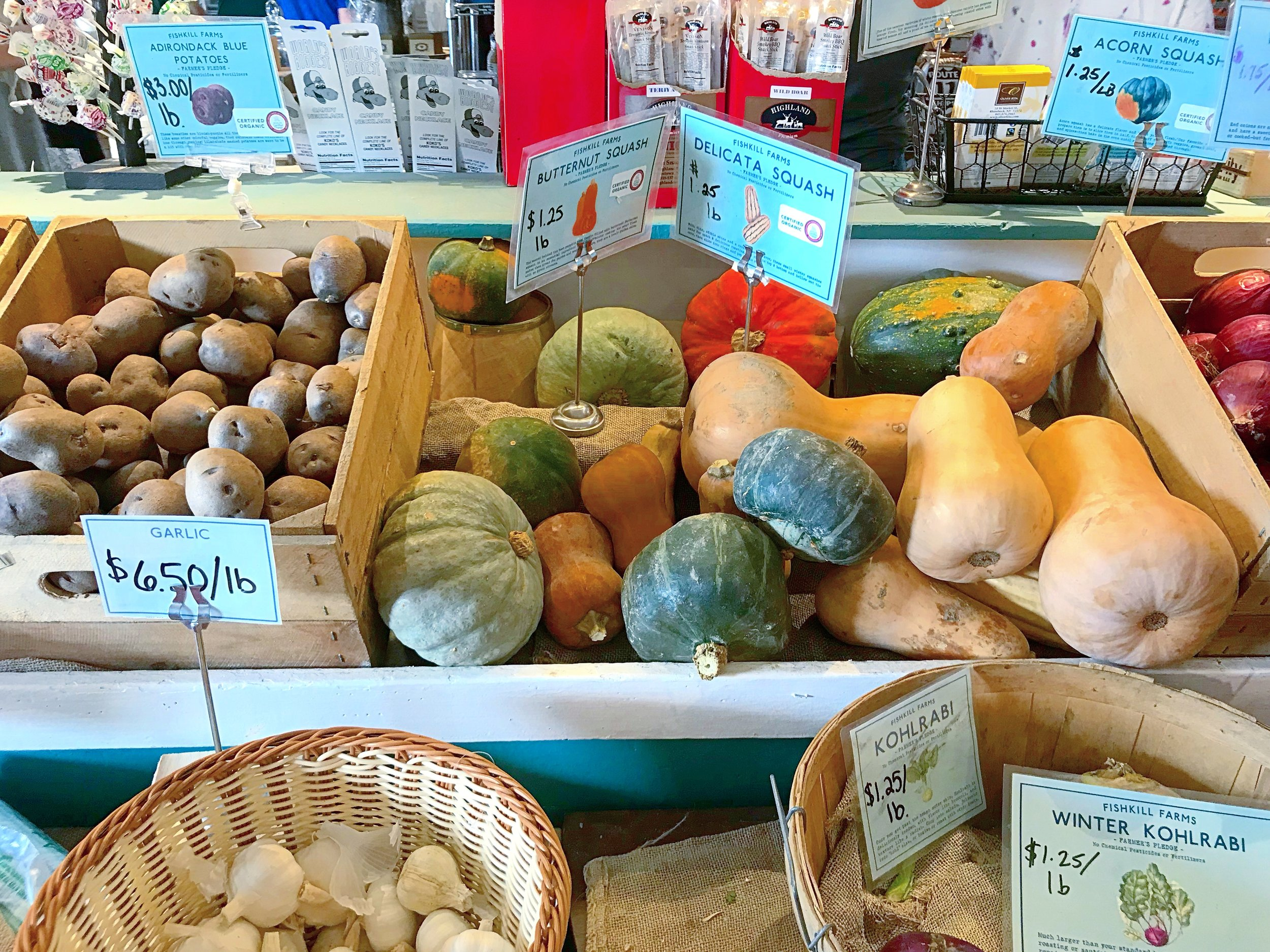 Squash and Produce, Fishkill NY