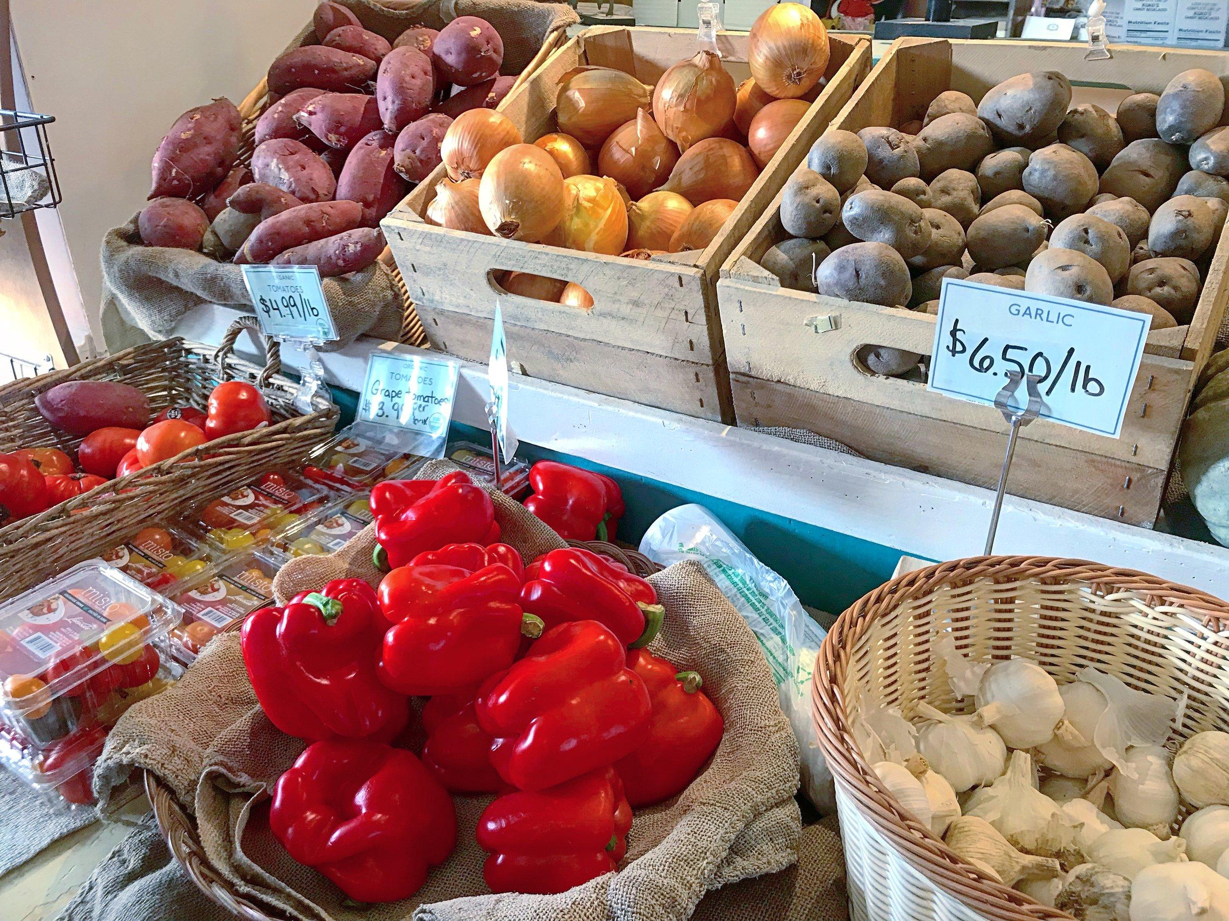 Fishkill Farms organic produce.