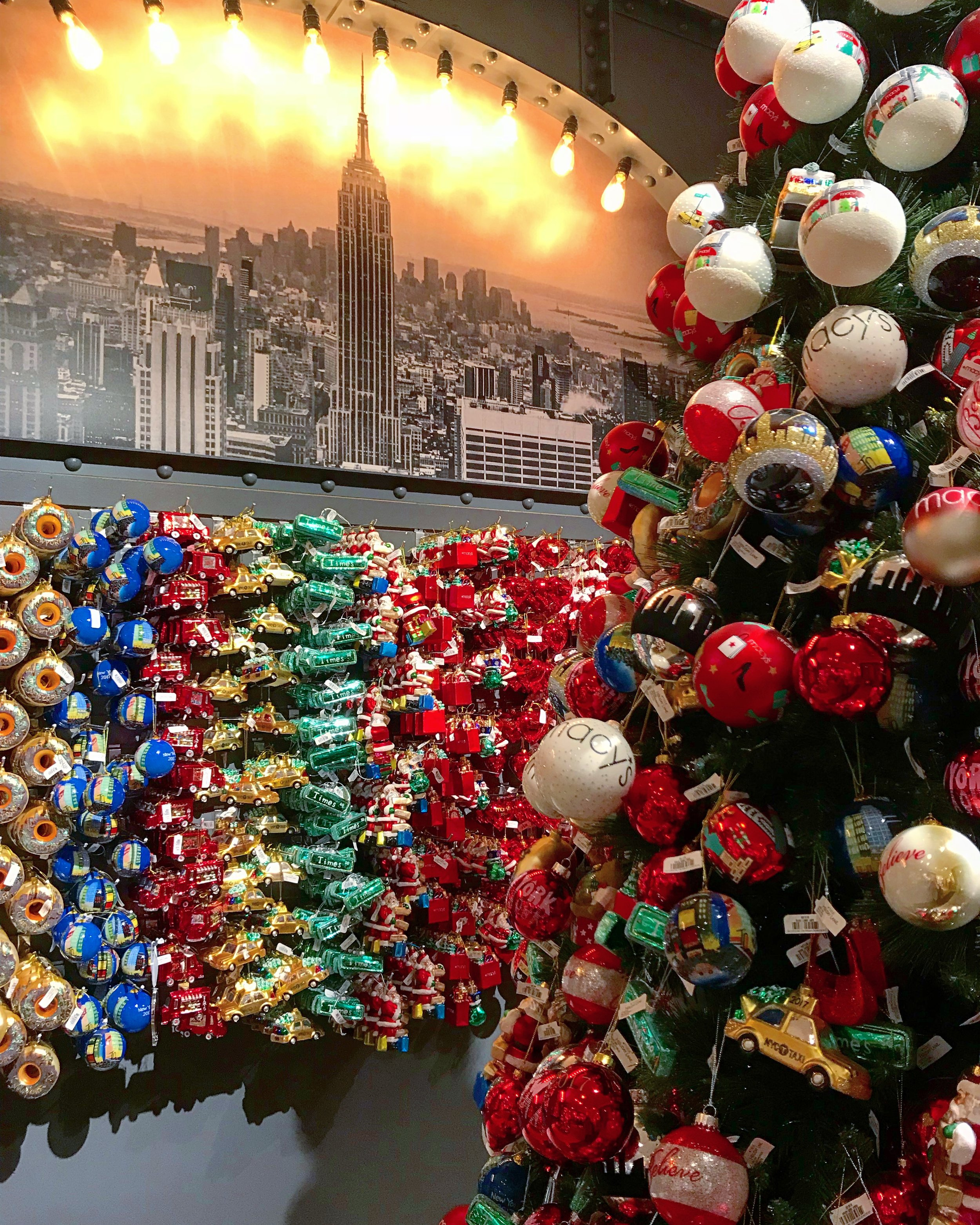 NYC Christmas Ornaments