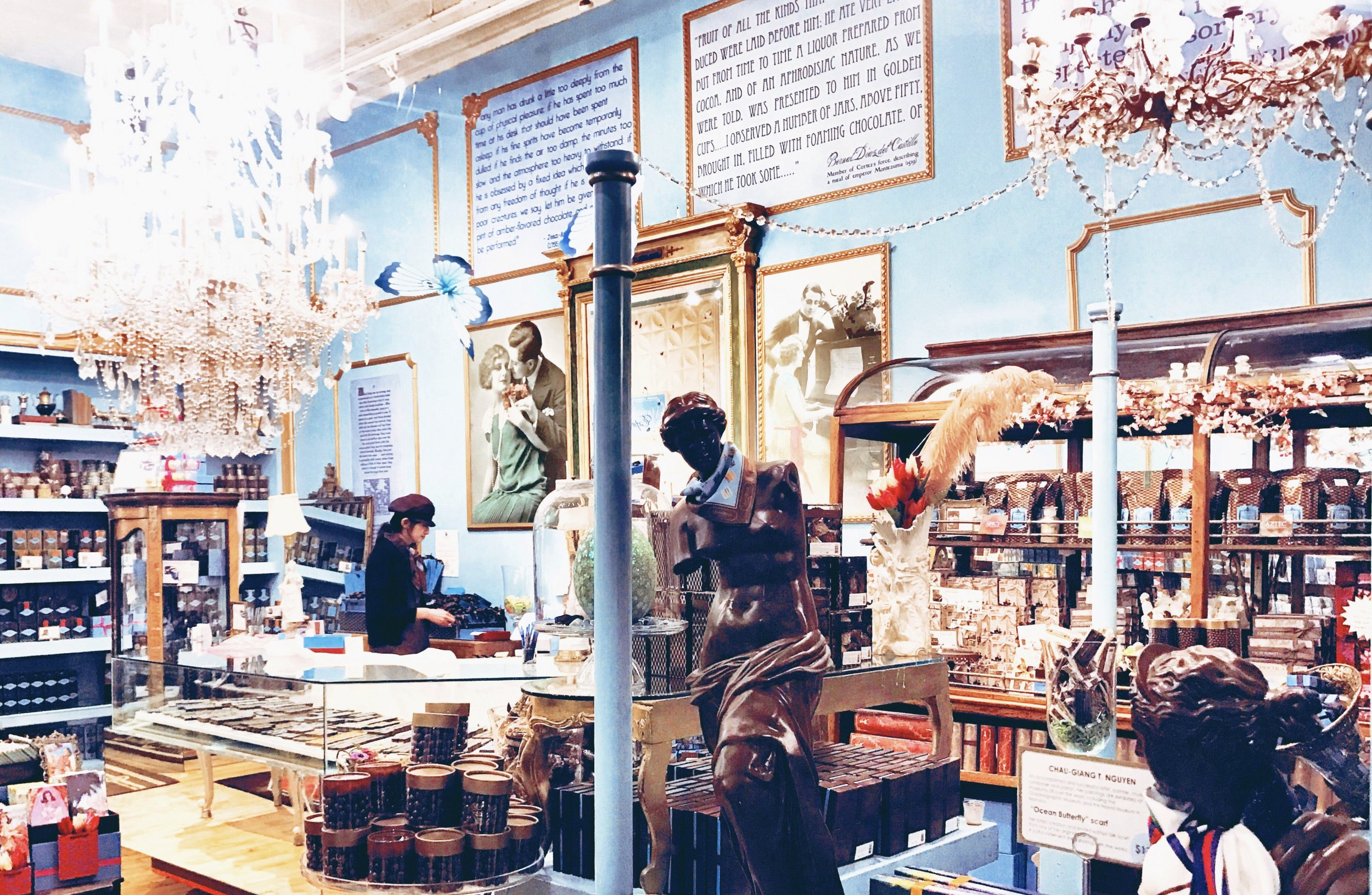 Marie Belle Store in SoHo