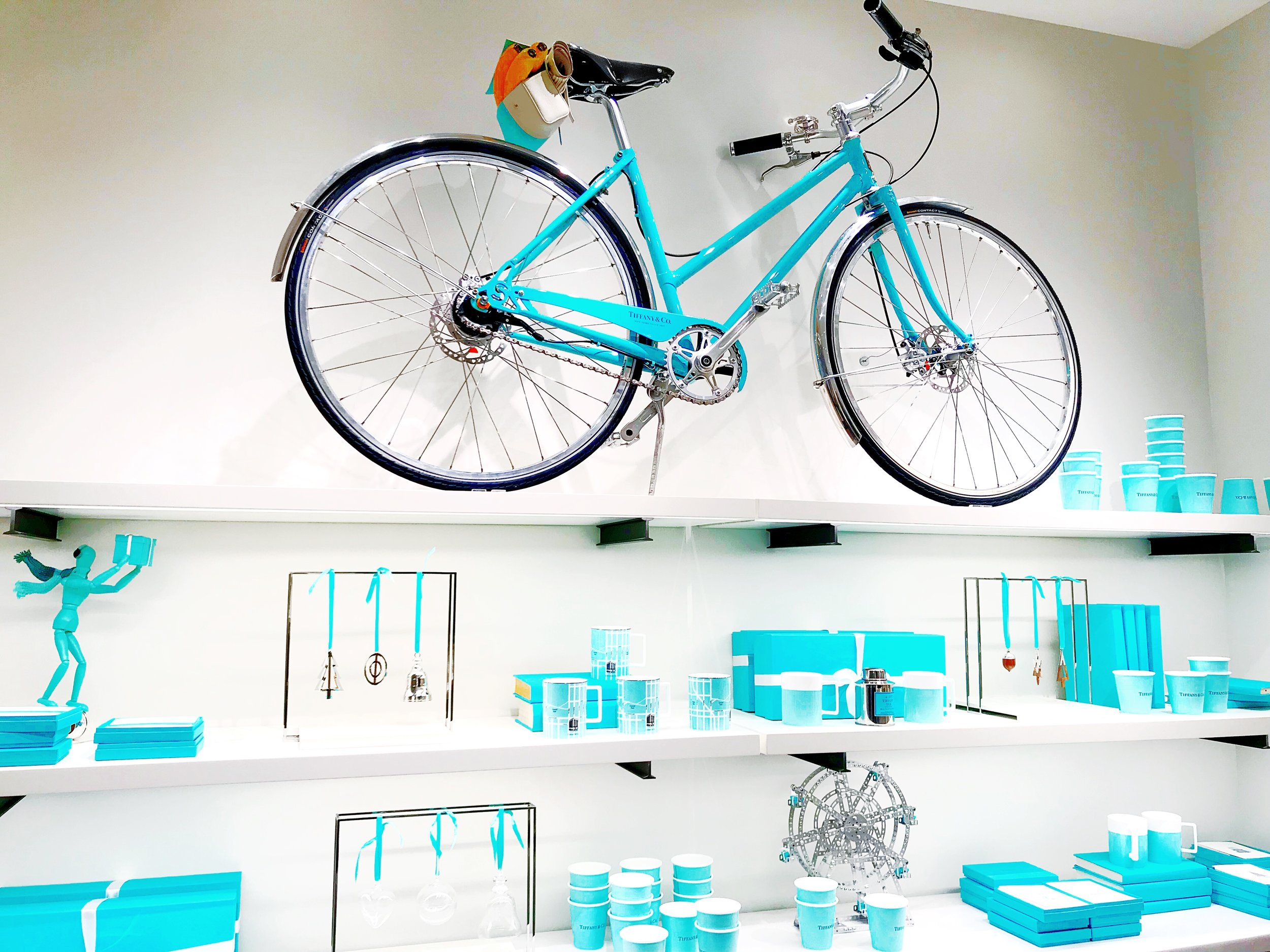 The Famous Tiffany Bike - 4th Floor