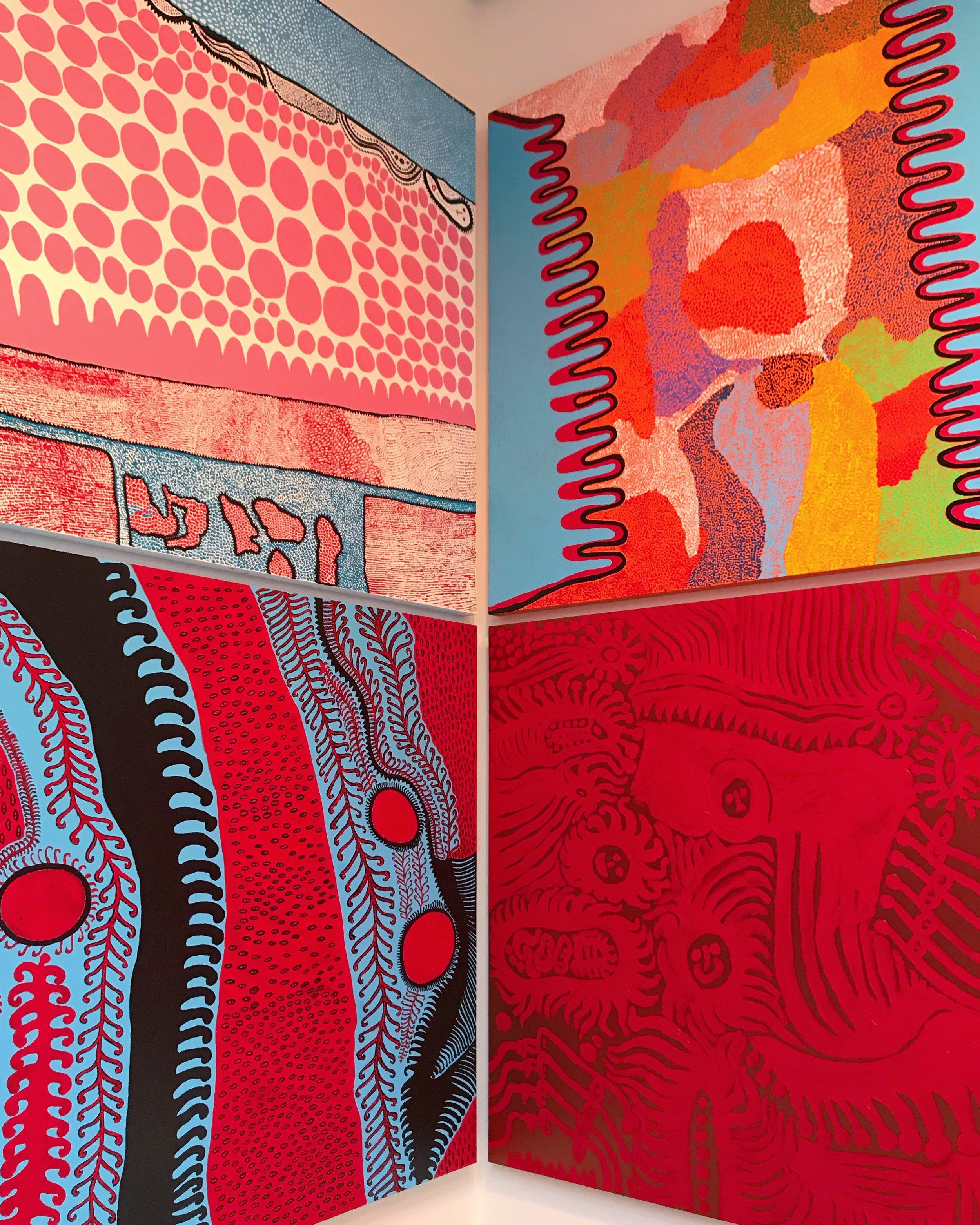 Paintings by Japanese Artist -Yayoi Kusama