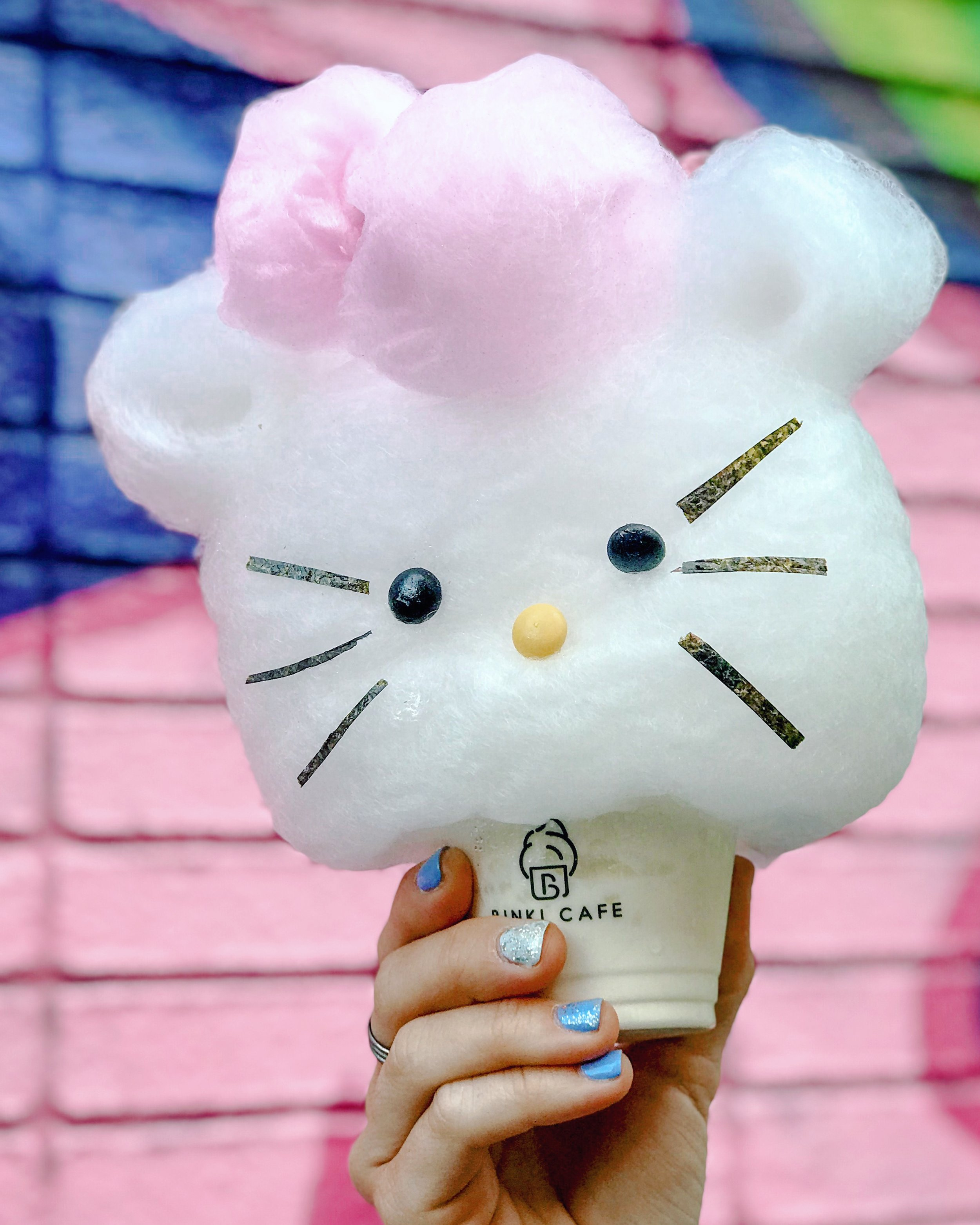 The Special Cotton Candy Ice-cream Cup - Miss Hello Kitty