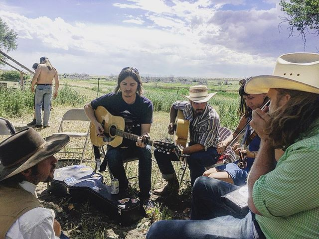 Old friends and new ones at @ranchlands. Thanks to everyone who showed up and waited out the storm with us! And thanks to all the Chico Basin folks that took care of us! Good times in some pretty country.