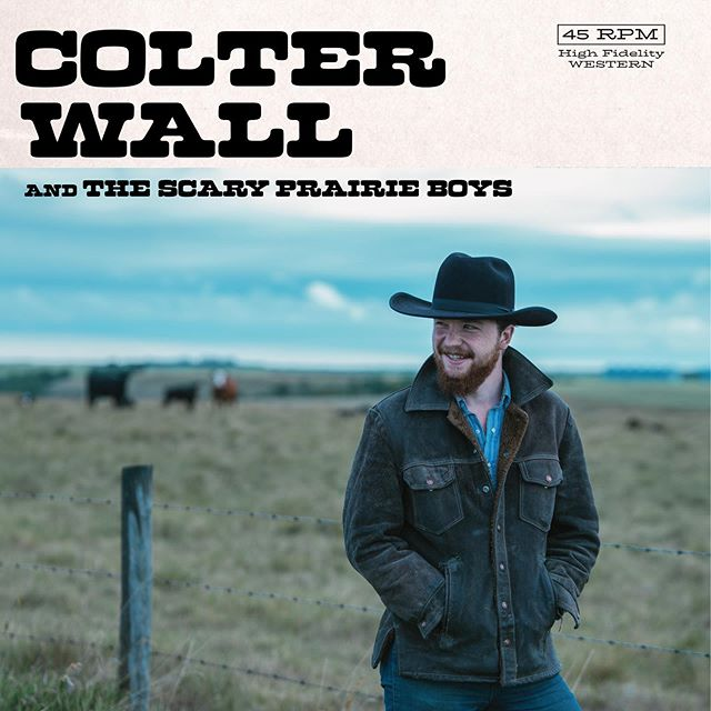 "NEW MUSIC! Excited to announce the upcoming release of two new songs in the form of a 7"" record. I've wanted to put out a 45 for a while now and come September 27th these little guys will be available on colterwall.com. These two tunes will also be available digitally for download and streaming on the same date."
