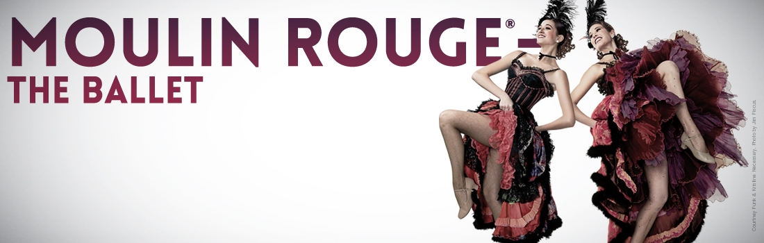Two Tickets to Atlanta Ballet's 'Moulin Rouge'