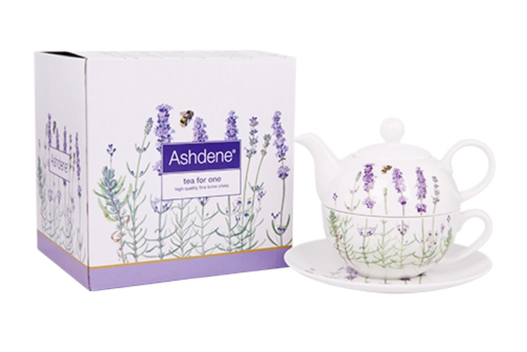 "Ashdene of Australia ""I Love Lavender"" Collection - Tea for One"